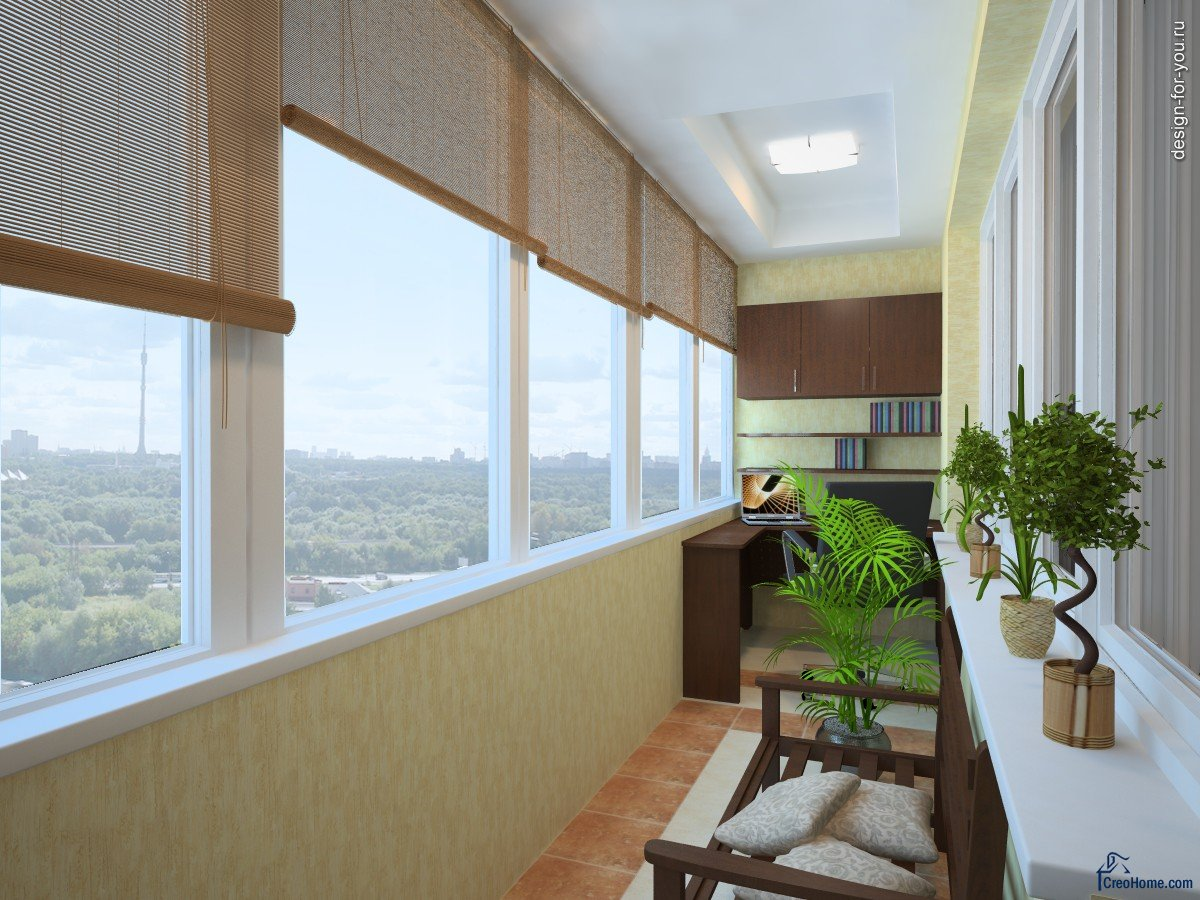 Теплый балкон под ключ цена.