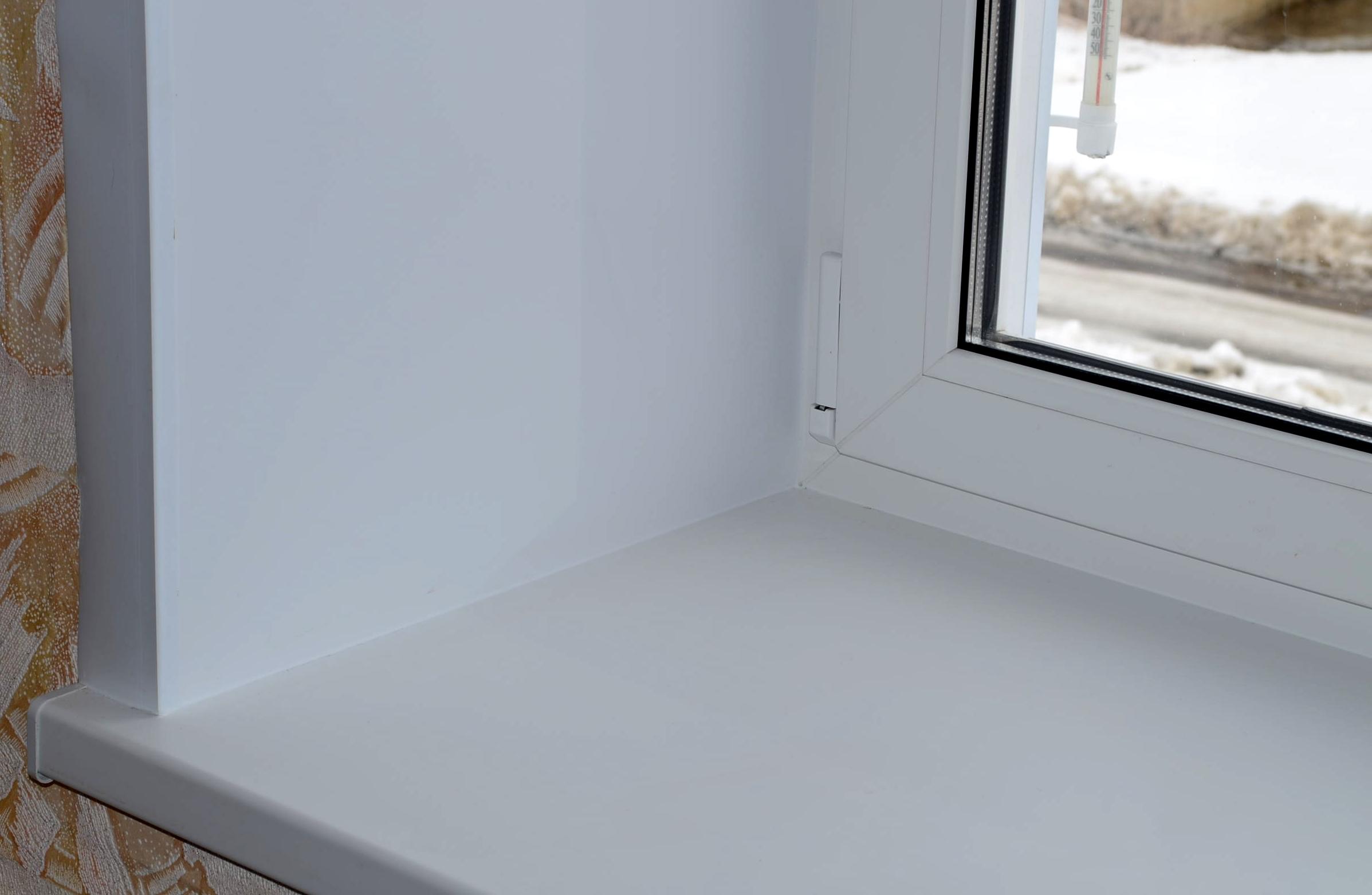 Как установить подоконник для пластикового окна 37