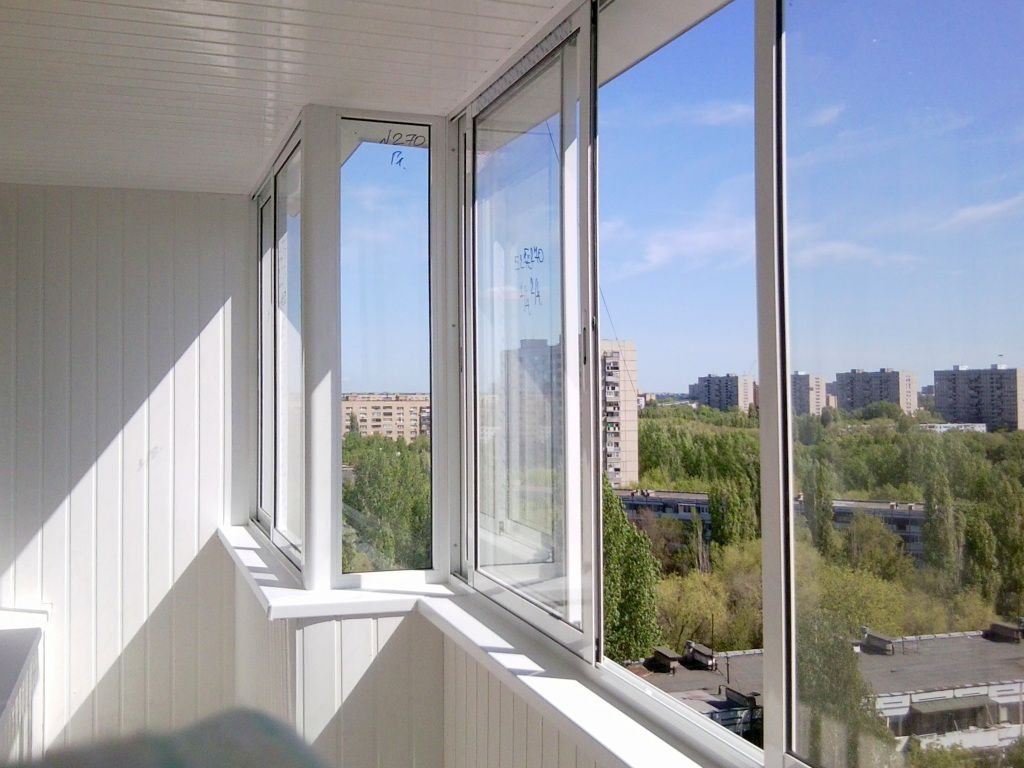 Холодное остекление балконов и лоджий.